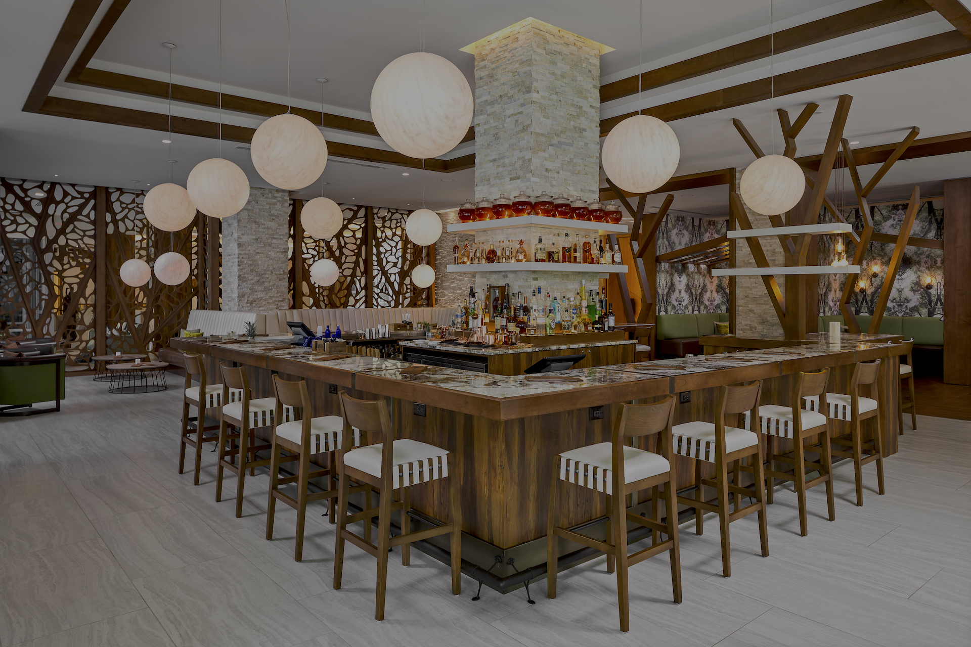 Oak and Honey Bar, Greenville SC